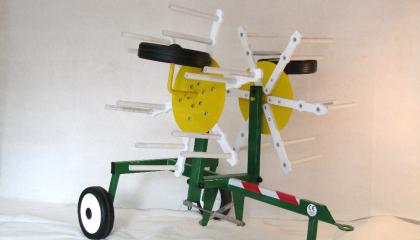 Twin Rotor Rake
